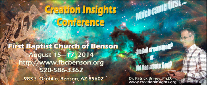 Ad for Benson, AZ conference